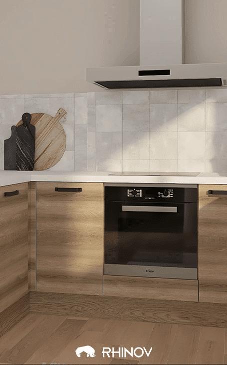décoration sol cuisine