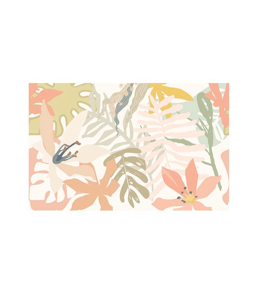 Papier peint panoramique Pix-Art rose 3 x 5,36 m - NUANCES UNIKALO