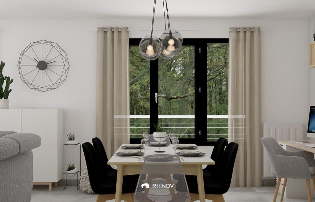 table minimaliste