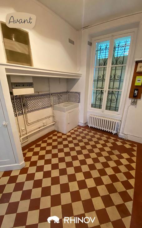 Aménager petite cuisine fermée projet avant travaux