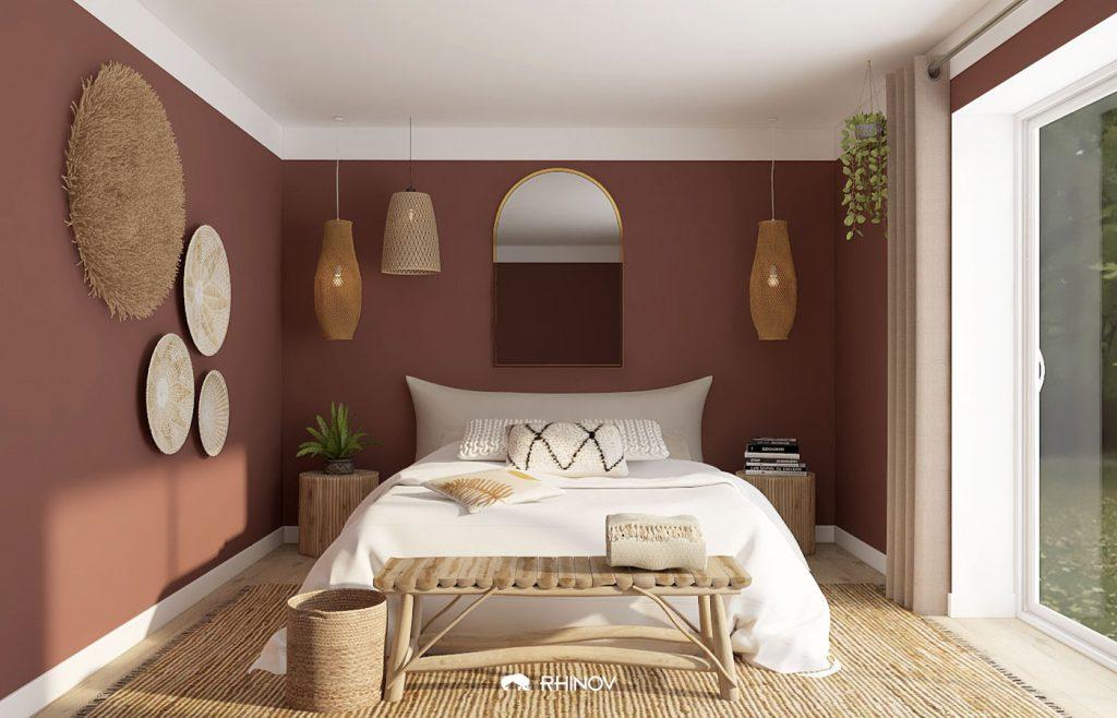astuce peinture : comment élever le plafond ?