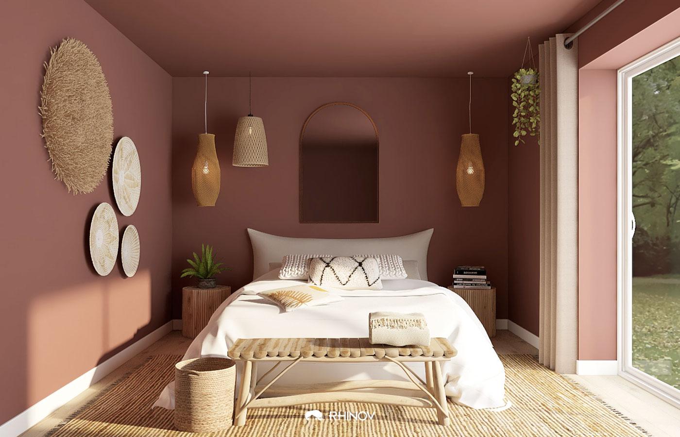 astuce peinture : comment rapprocher les murs ?