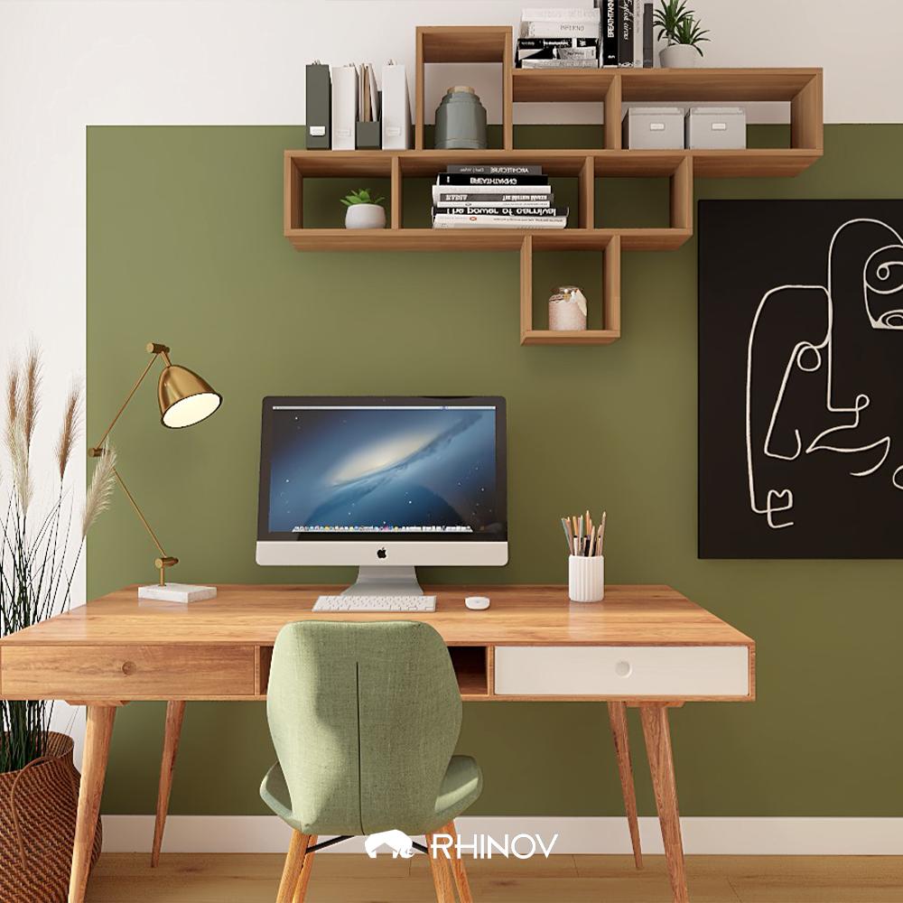 bureau vintage vert
