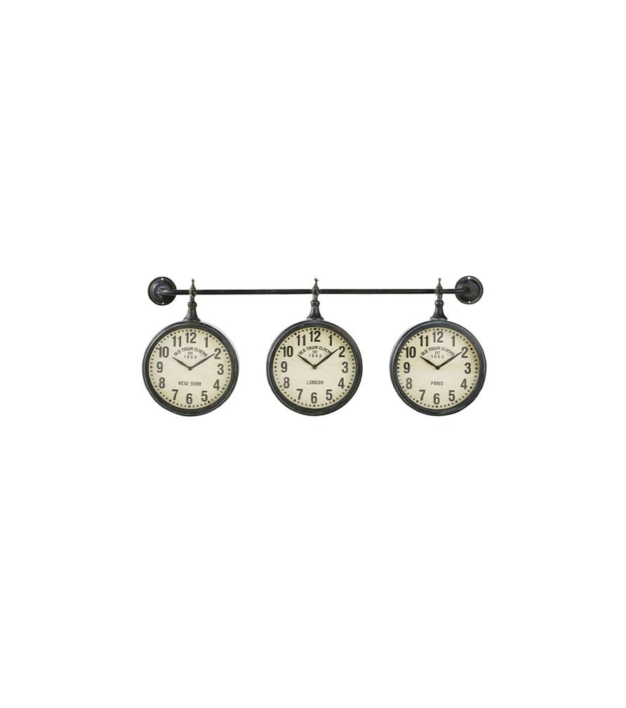 Horloges indus en métal