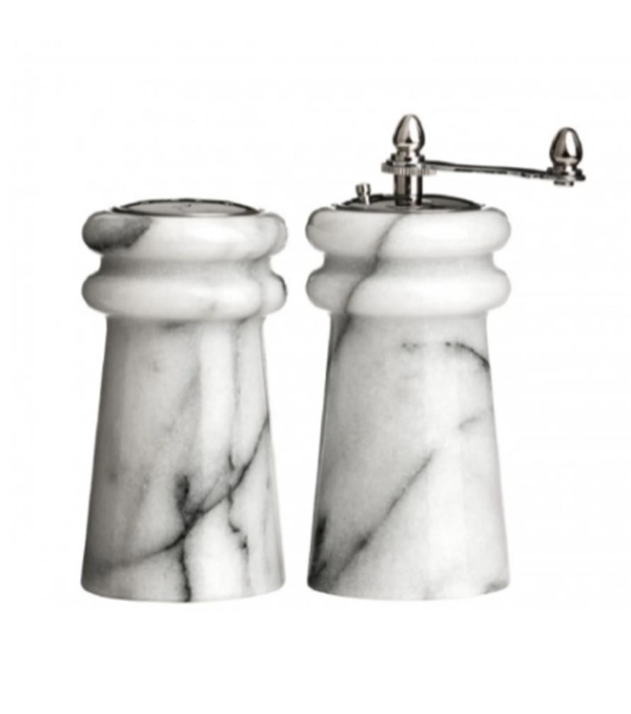 Salière et moulin à poivre en marbre