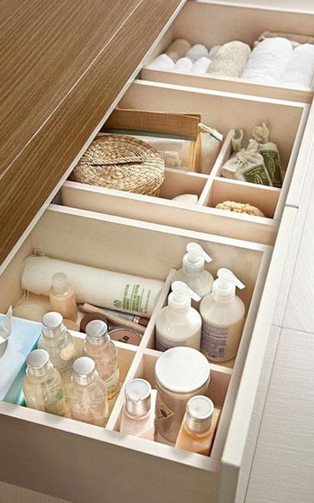 organisateurs de tiroirs salle de bain pour comment ranger sa maison