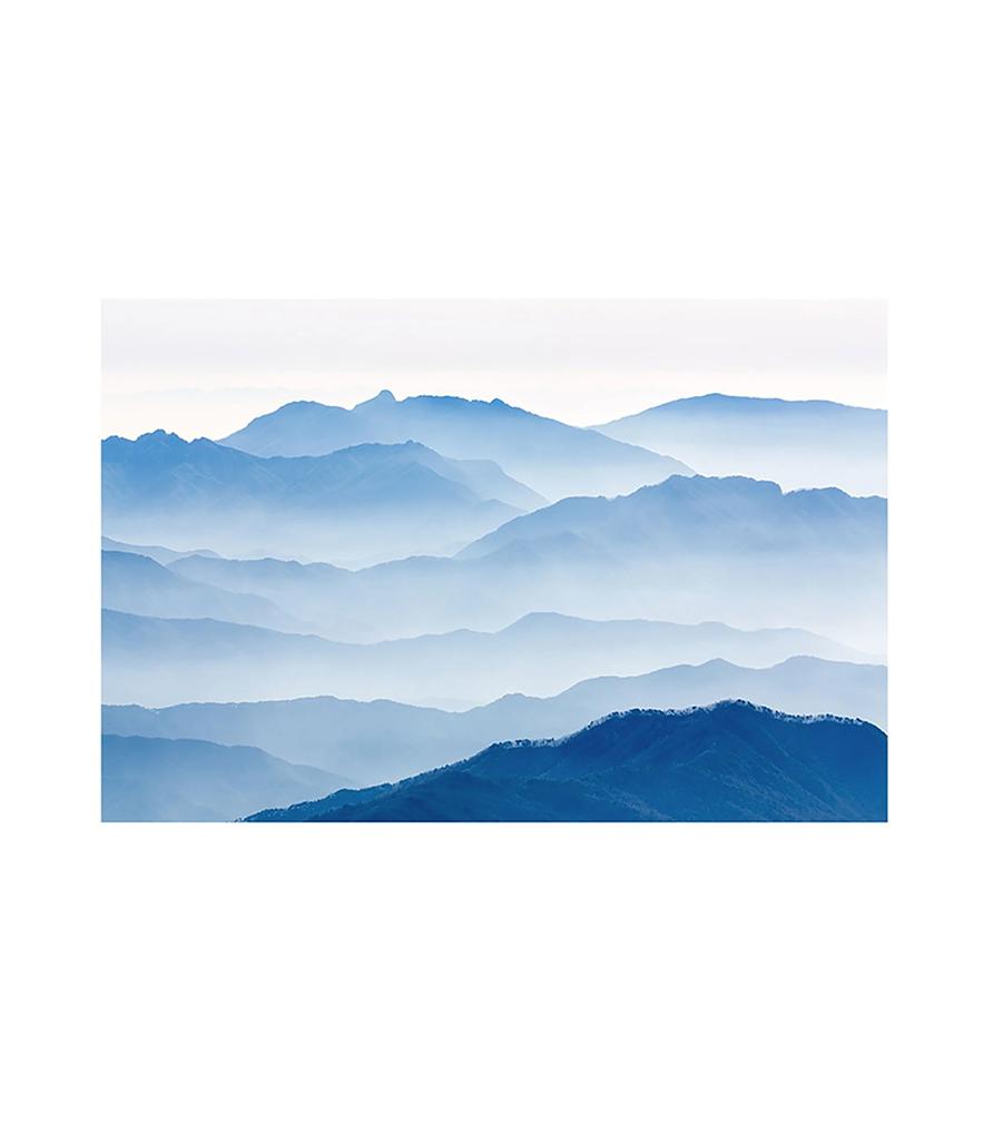 Affiche paysage montagnes